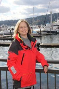 Julie Wurden Jablonski at marina