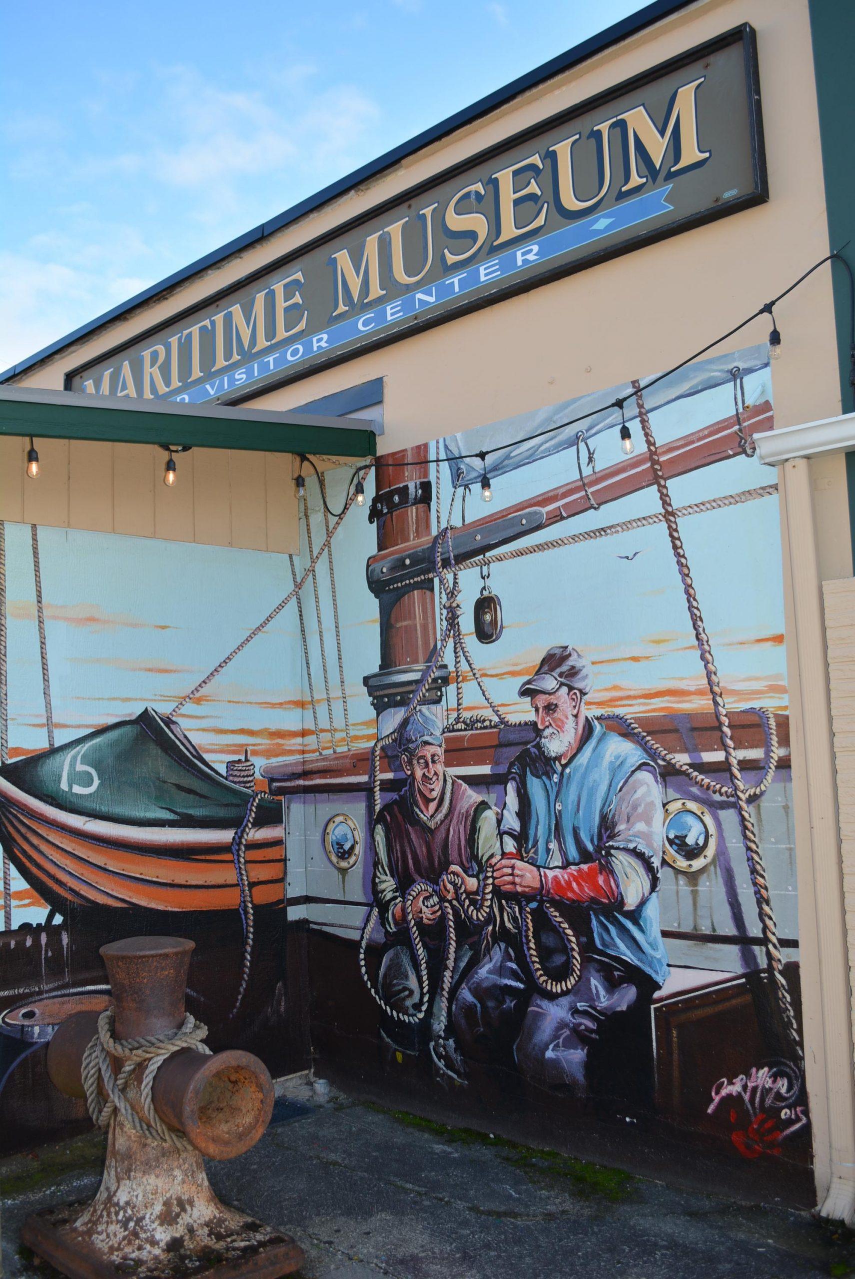 Poulsbo Maritime Museum mural