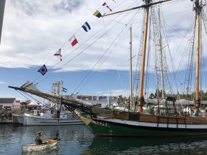 Point Hudson Wooden Sailing Vessel